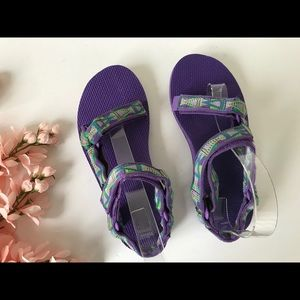 Teva Mosaic Purple Universal Sandals